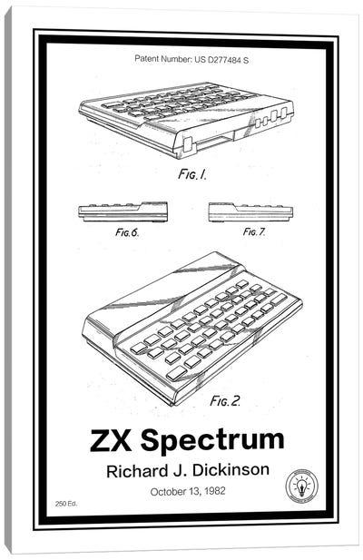 ZX Spectrum Canvas Art Print