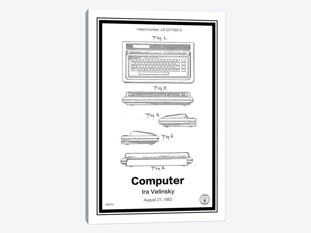 C64 by Retro Patents 1-piece Canvas Print