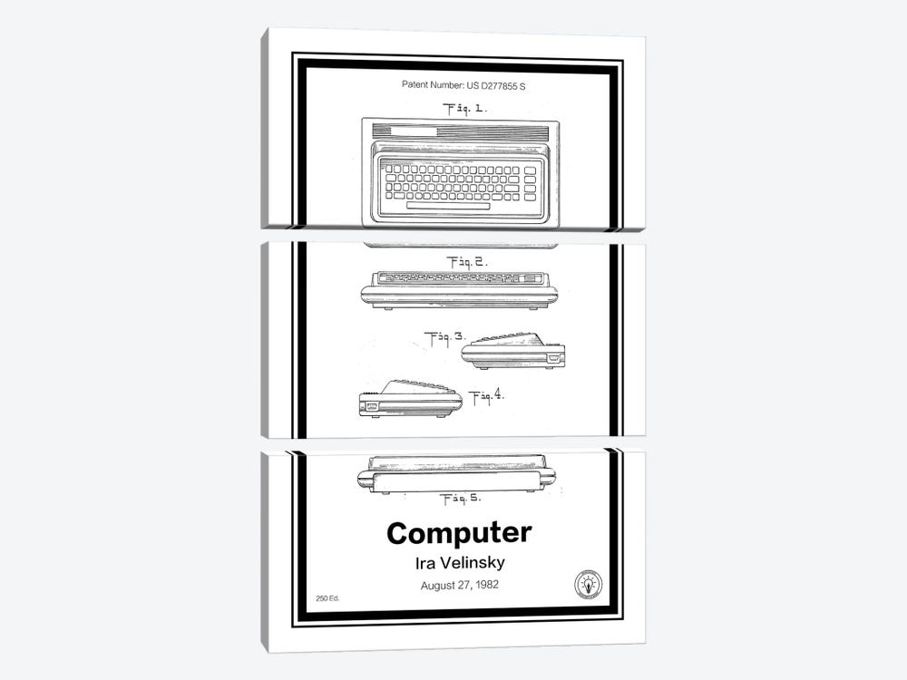 C64 by Retro Patents 3-piece Art Print