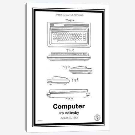 C64 Canvas Print #RPA6} by Retro Patents Art Print
