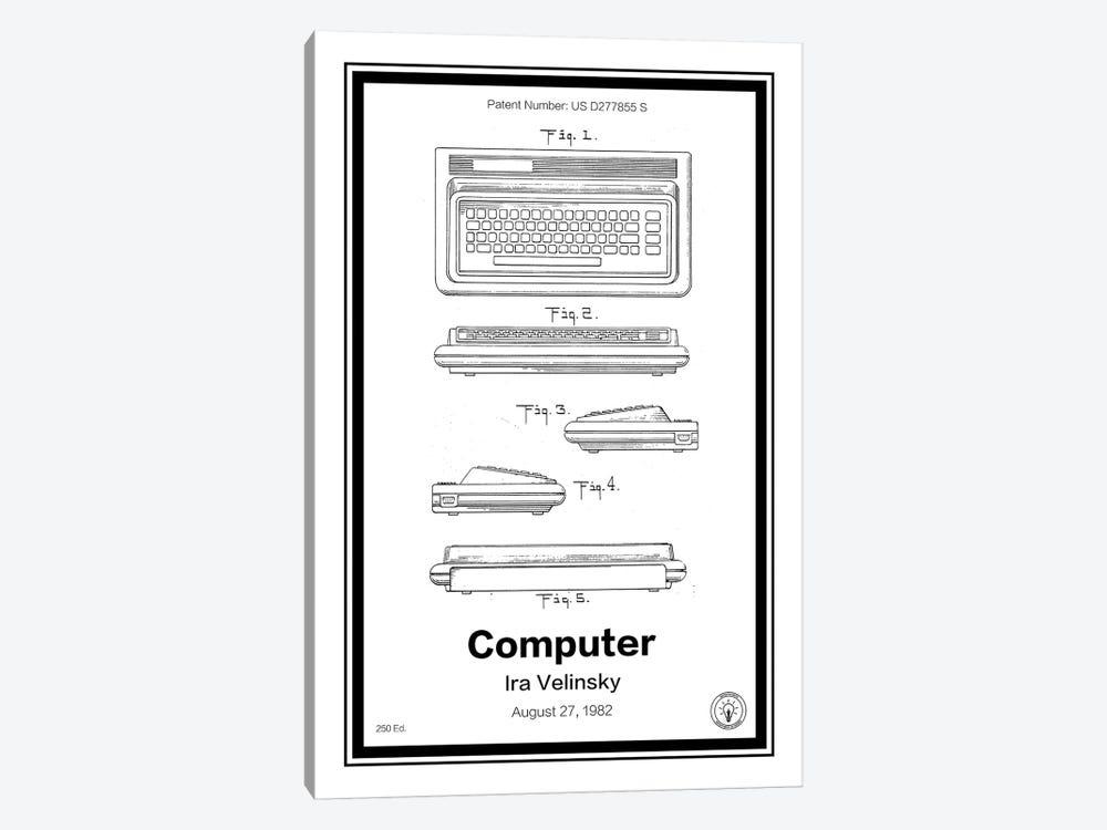 C64 by Retro Patents 1-piece Canvas Print