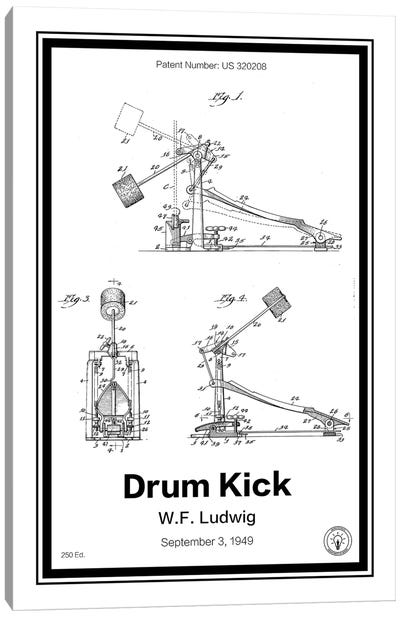 Drumkick Canvas Art Print