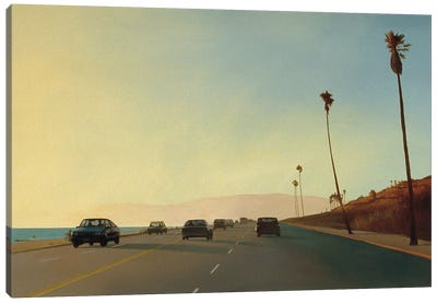 California Road Chronicles XVI Canvas Art Print