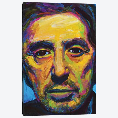 Al Pacino Canvas Print #RPH151} by Robert Phelps Canvas Art