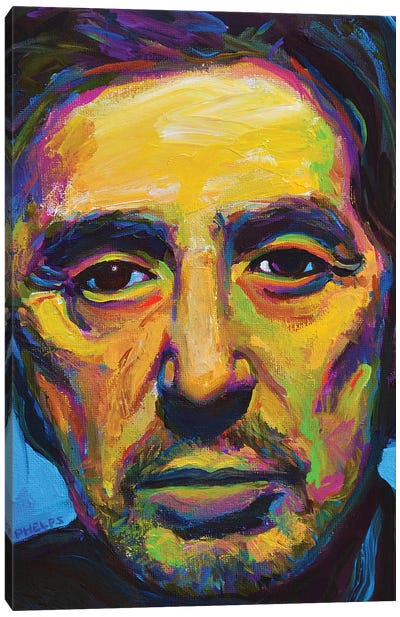 Al Pacino Canvas Art Print