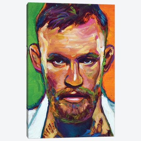 Conor Mcgregor Canvas Print #RPH153} by Robert Phelps Canvas Art