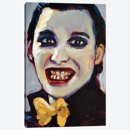 Dave Vanian Canvas Print #RPH154} by Robert Phelps Canvas Print