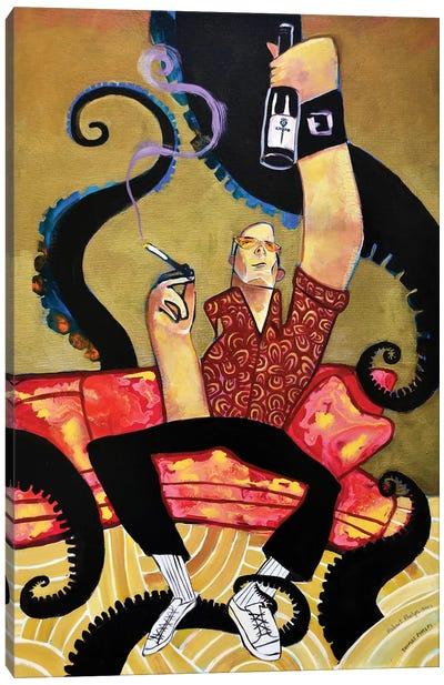 Hunter S Thompson Canvas Art Print
