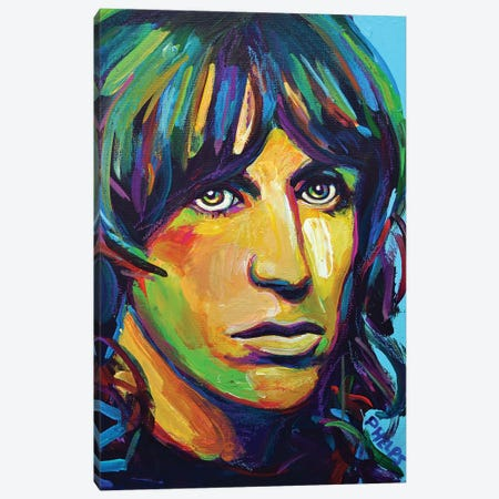 Iggy Pop Canvas Print #RPH156} by Robert Phelps Canvas Art Print