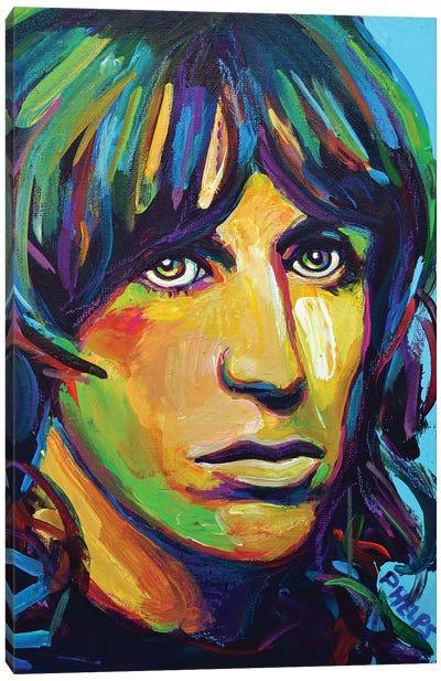 Iggy Pop Canvas Art Print