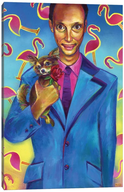 John Waters Canvas Art Print