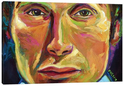 Mads Mikkelsen Canvas Art Print