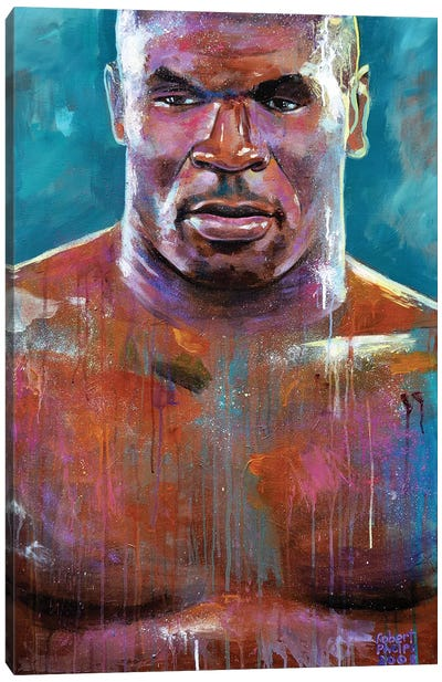 Mike Tyson Canvas Art Print