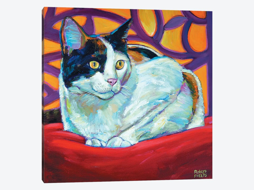 Calico by Robert Phelps 1-piece Canvas Art Print