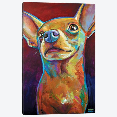 Chihuahua Canvas Print #RPH18} by Robert Phelps Canvas Print
