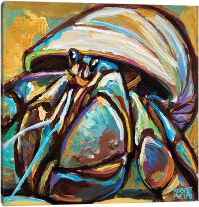 Hermit Crab Canvas Art Print