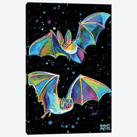 Party Bats Canvas Print #RPH205} by Robert Phelps Canvas Print