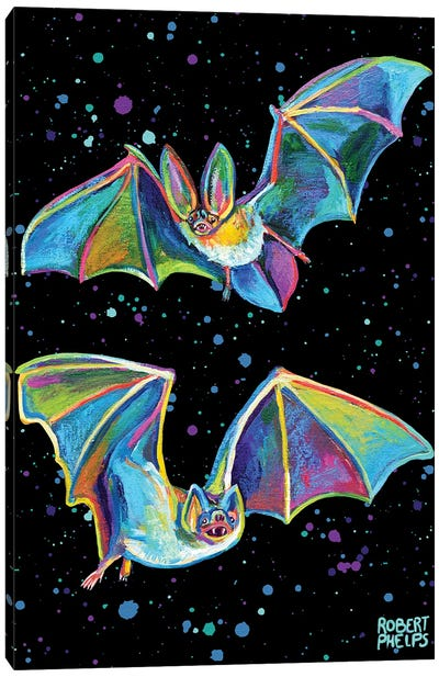 Party Bats Canvas Art Print