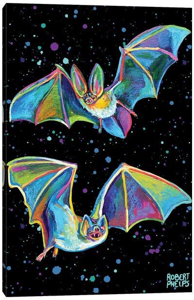 Party Bats Canvas Art Print