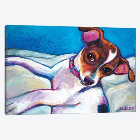 Chihuahua Puppy Canvas Print #RPH20} by Robert Phelps Canvas Wall Art