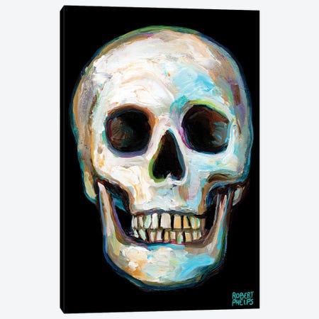 Skull Canvas Print #RPH214} by Robert Phelps Canvas Art