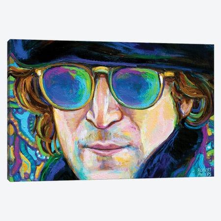 Working Class Hero I Canvas Print #RPH221} by Robert Phelps Canvas Art