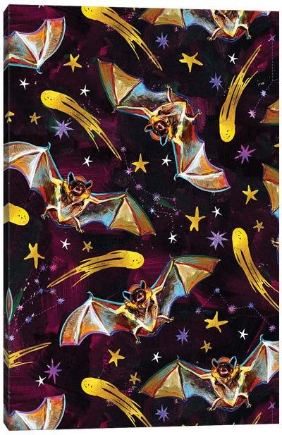 Vampire Bat Pattern II Canvas Art Print