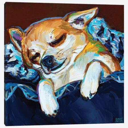 Sleepy Viktor I Canvas Print #RPH276} by Robert Phelps Canvas Art