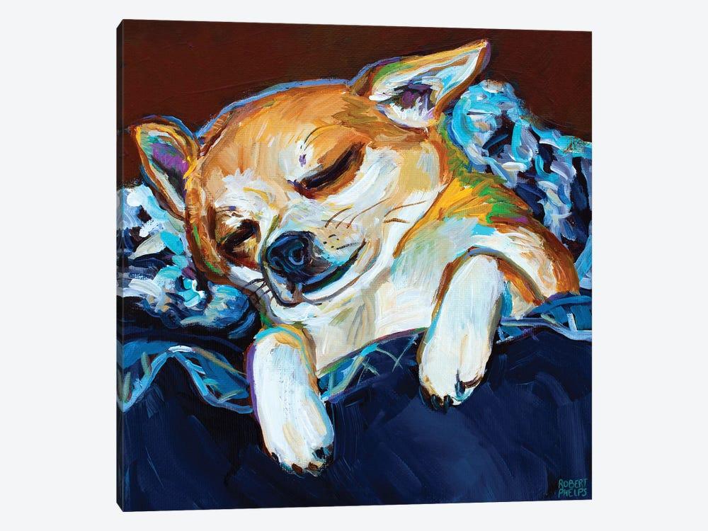 Sleepy Viktor I by Robert Phelps 1-piece Canvas Artwork