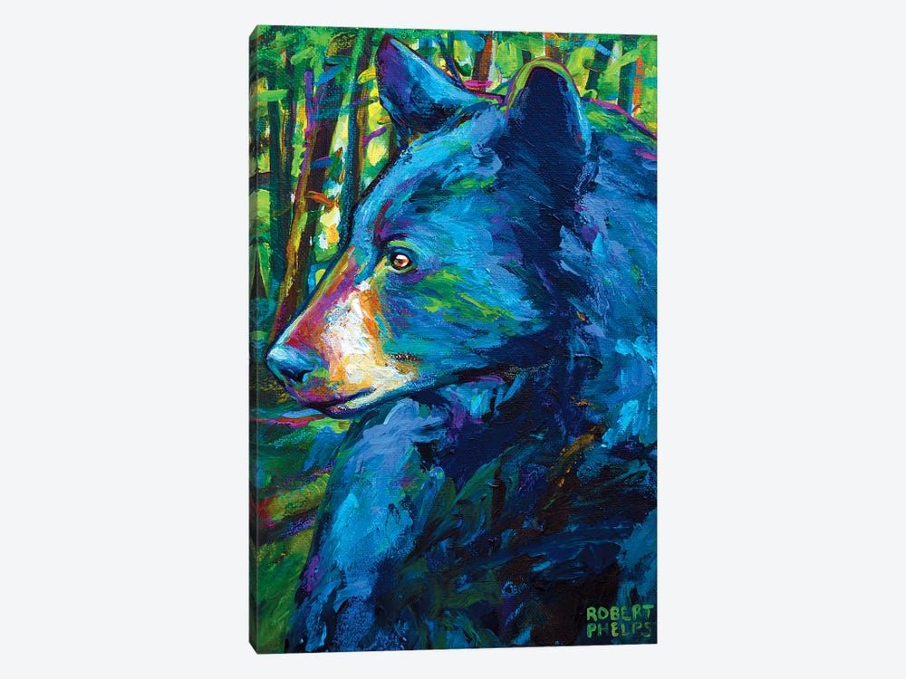 Forestbear by Robert Phelps 1-piece Canvas Print