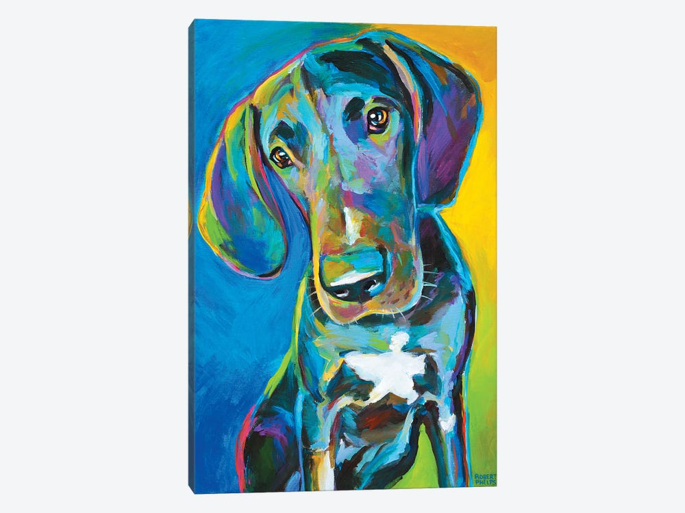 Great Dane II 1-piece Art Print