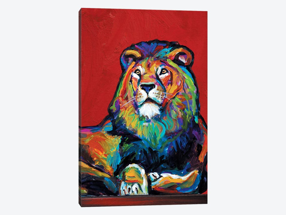 Lion by Robert Phelps 1-piece Canvas Art Print