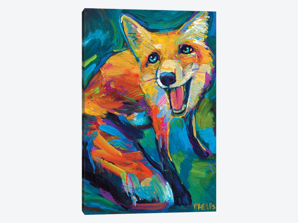 Red Fox by Robert Phelps 1-piece Canvas Art Print