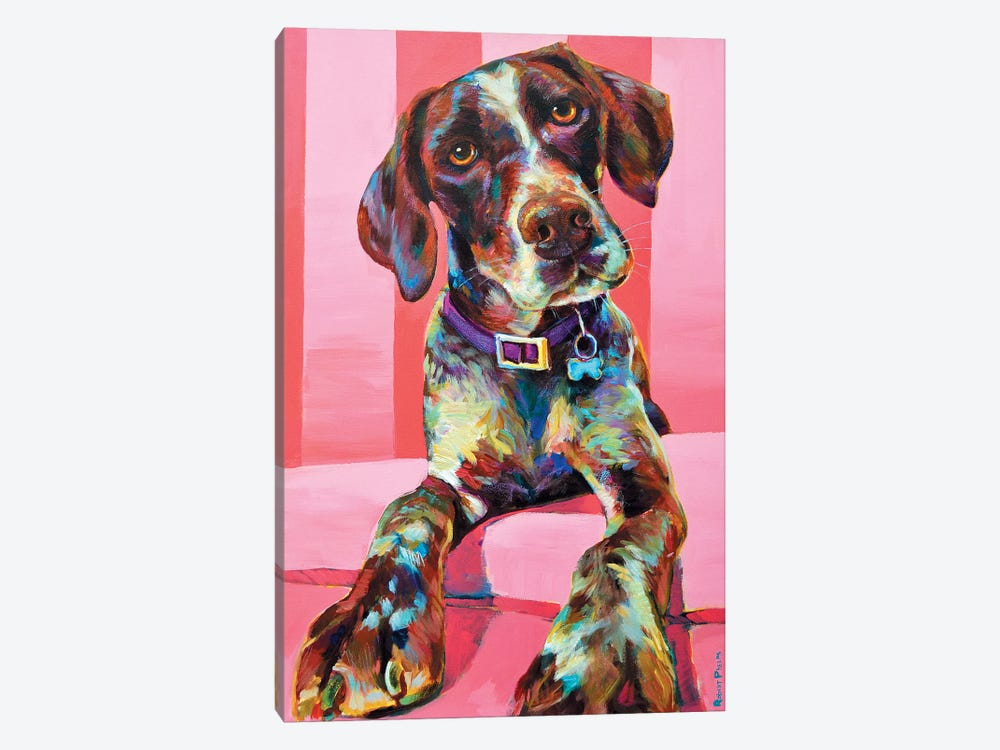 Shorthair Pointer by Robert Phelps 1-piece Canvas Wall Art