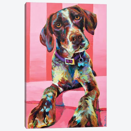 Shorthair Pointer Canvas Print #RPH66} by Robert Phelps Art Print