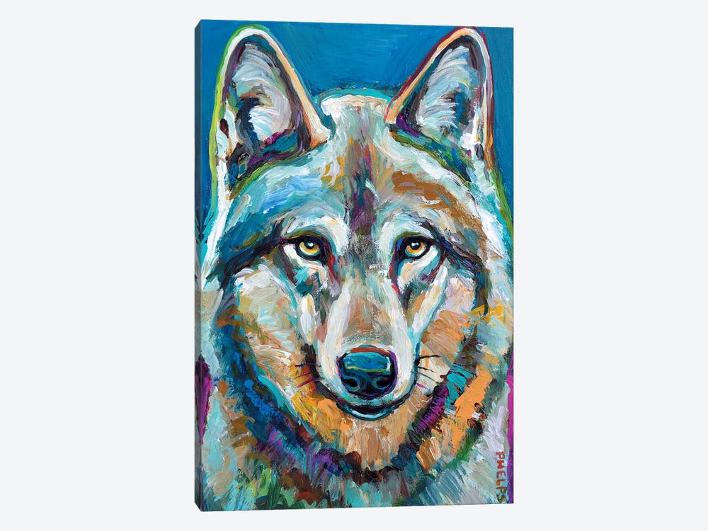 Spirit Wolf by Robert Phelps 1-piece Art Print