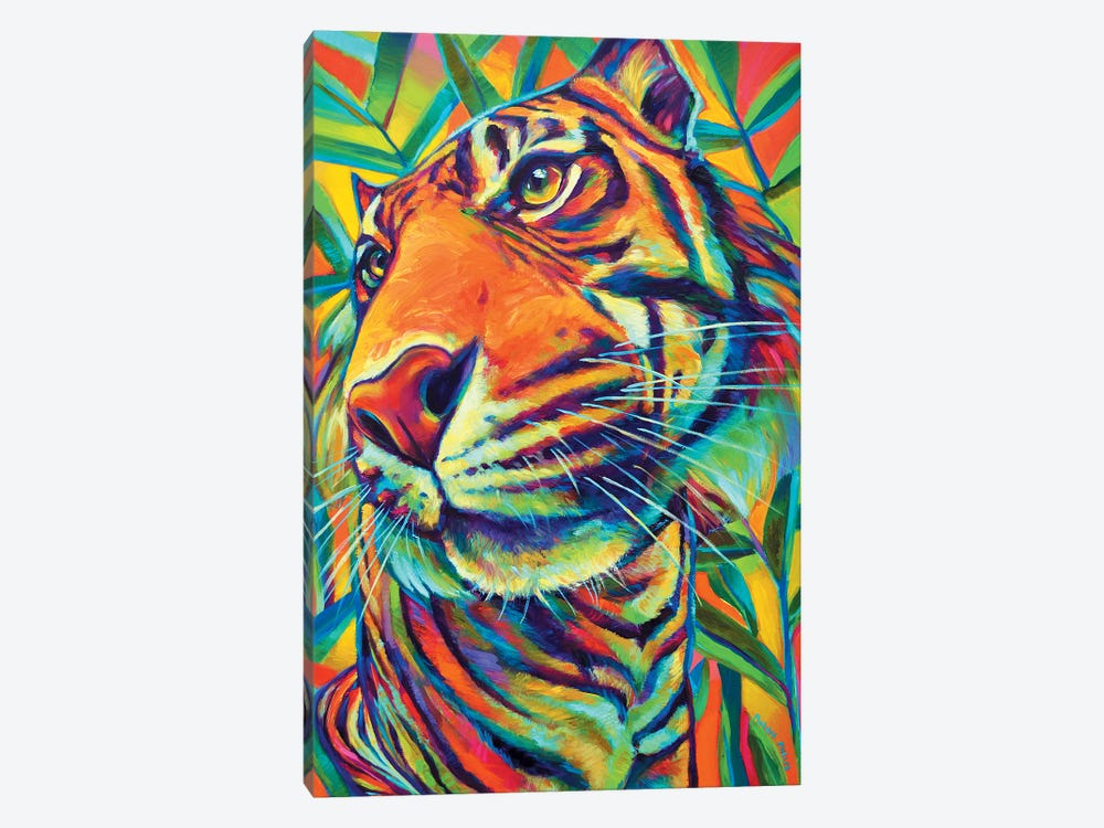 Tiger by Robert Phelps 1-piece Canvas Art Print