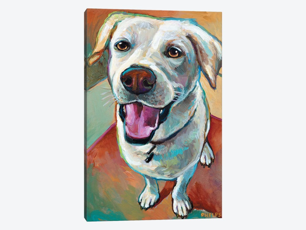 Blond Lab by Robert Phelps 1-piece Canvas Wall Art