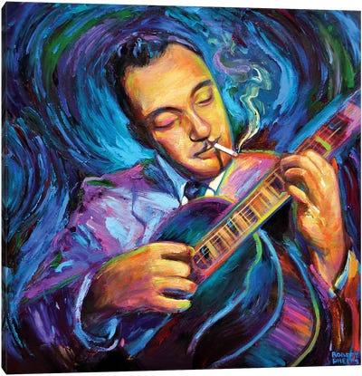 Django Reinhardt Canvas Art Print