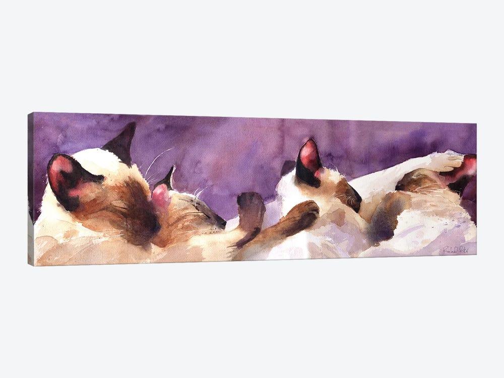 Siamese Strip by Rachel Parker 1-piece Canvas Art