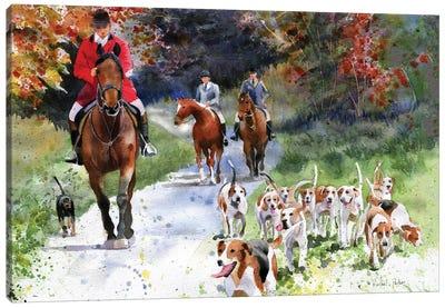 Tally Ho Canvas Art Print