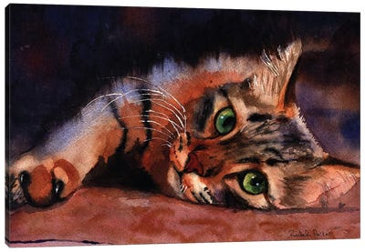 Floored Canvas Art Print