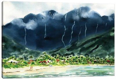 Hanalei Bay Canvas Art Print
