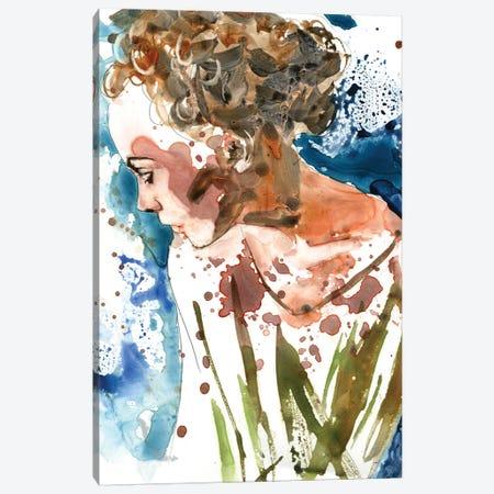 A Womans Thoughts Canvas Print #RPK92} by Rachel Parker Canvas Artwork