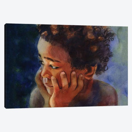 Sami Canvas Print #RPK97} by Rachel Parker Canvas Art Print
