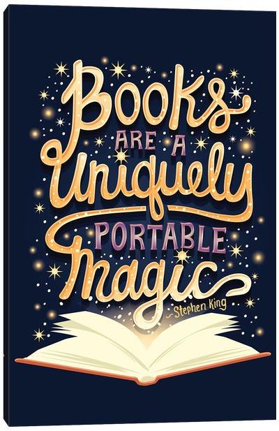 Books Are Magic Canvas Art Print