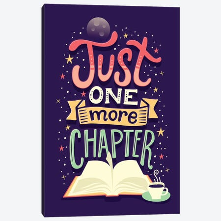 One More Chapter Canvas Print #RRO39} by Risa Rodil Canvas Print