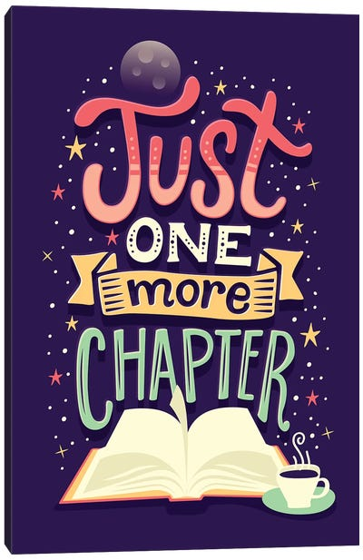 One More Chapter Canvas Art Print