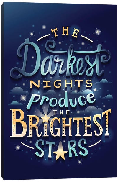 Brightest Stars Canvas Art Print