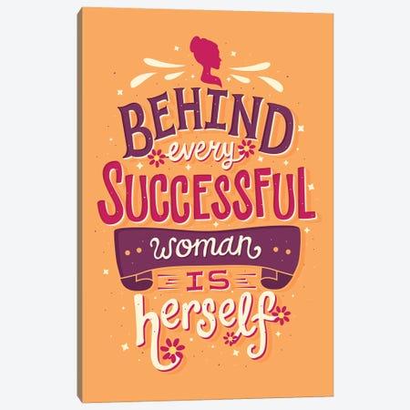 Successful Woman Canvas Print #RRO45} by Risa Rodil Canvas Art Print